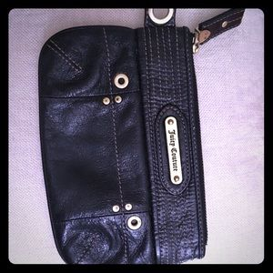 Handbags - Nice sized black Juicy Couture clutch/Wristlet